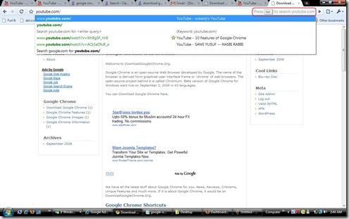 tab search