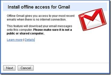 Installing Offline Access