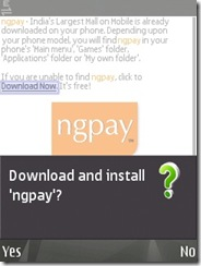 Download and install NGPay