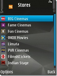May be your cinema not listed here but all leading one like PVR, Big and Fun Cinemas are here