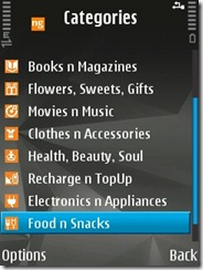 Yes!! you can book snacks from here