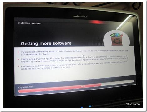 Ubuntu Install on Nokia Booklet 3G