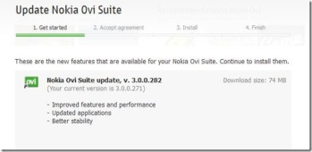 Nokia Ovi Suit Beta updated to 3 0 0 282 – Nitish Kumar's Blog