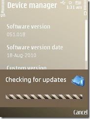 updateing
