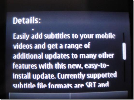 update details