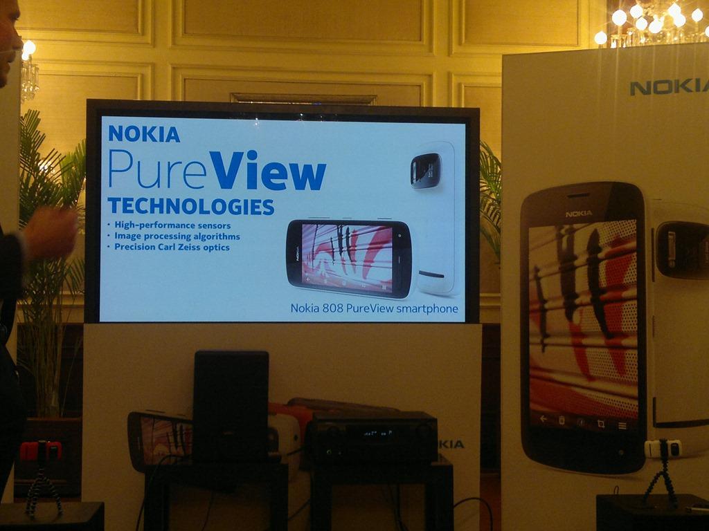 Hands on over Nokia Pureview 808–Layman's Take – Nitish Kumar's Blog